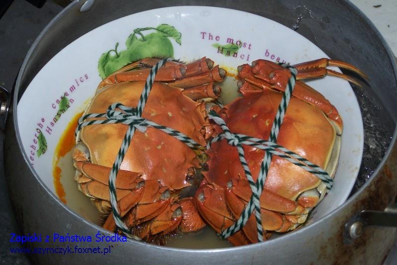 Najlepsze kraby są w YangChengHu (Jezioro Yang Cheng)