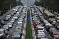 O chińskich kierowcach, tutejszych drogach i kolejach